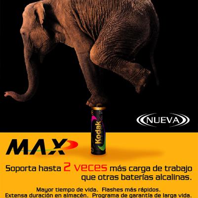 Campaña KODAK elefante